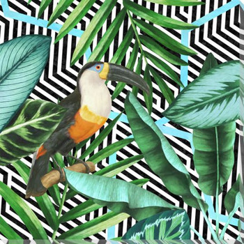 Into the Tropics 1 Toucan Bird Wrapped Canvas Giclee Art Print Wall Art