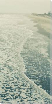 Beautiful Summer Seas II Wrapped Canvas Giclee Art Print Wall Art