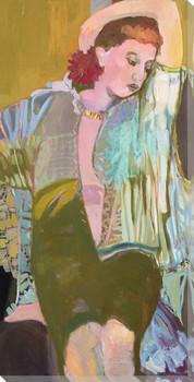 Sylvia Wrapped Canvas Giclee Art Print Wall Art