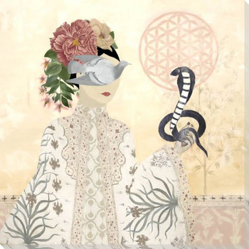 Nature of a Woman 2 Wrapped Canvas Giclee Art Print Wall Art