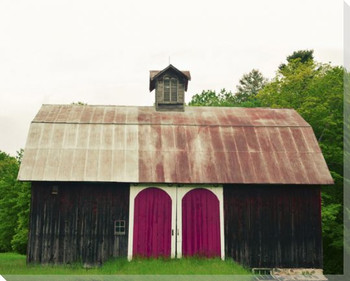 Relic Barn Wrapped Canvas Giclee Art Print Wall Art