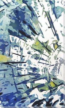 Sunburst 2 Wrapped Canvas Giclee Art Print Wall Art