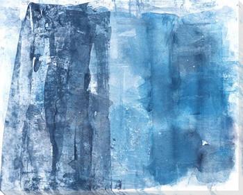 Midnight Beach Wrapped Canvas Giclee Art Print Wall Art