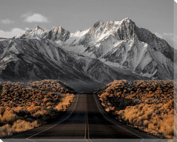 The Road 1 Wrapped Canvas Giclee Art Print Wall Art