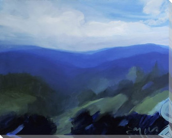 Deep Gap Trail Wrapped Canvas Giclee Art Print Wall Art