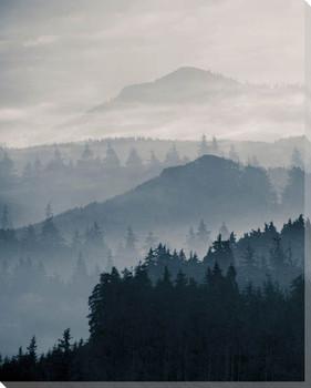 Blue Mountains I Wrapped Canvas Giclee Art Print Wall Art