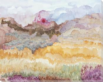Couleurs de Printemps 3 Wrapped Canvas Giclee Art Print Wall Art