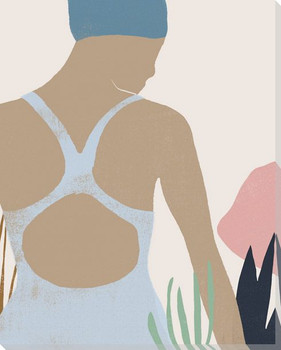 Femme Moderne I Wrapped Canvas Giclee Art Print Wall Art