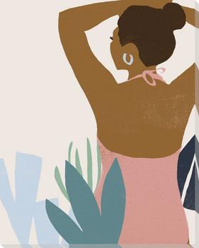 Femme Moderne II Wrapped Canvas Giclee Art Print Wall Art
