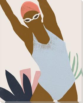 Femme Moderne III Wrapped Canvas Giclee Art Print Wall Art