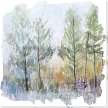 Whistle 1 Trees Wrapped Canvas Giclee Art Print Wall Art