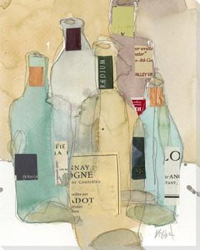Wines & Spirits II Wrapped Canvas Giclee Art Print Wall Art