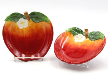 Apple Candy Dishes, Set of 4