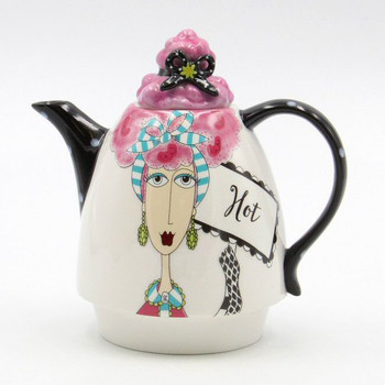 Dollymama Hot Porcelain Teapot