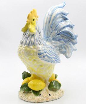 Lemon Hill Rooster Bird Porcelain Figurine Sculpture