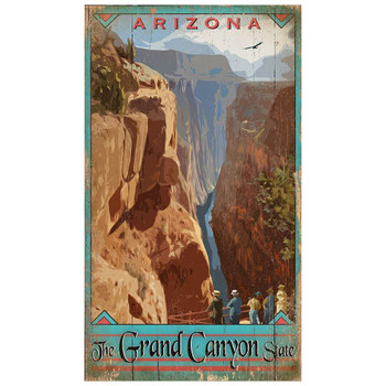 Custom Grand Canyon Vintage Style Wooden Sign