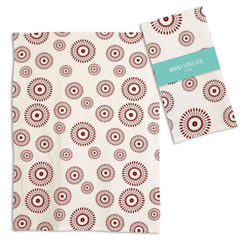 Ember Cotton Tea Towels, Set of 4