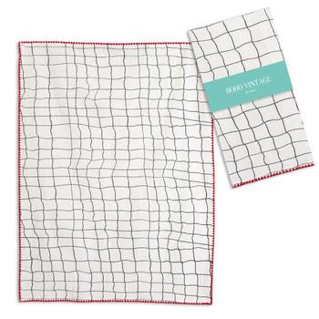 Maggie Cotton Tea Towels, Set of 4