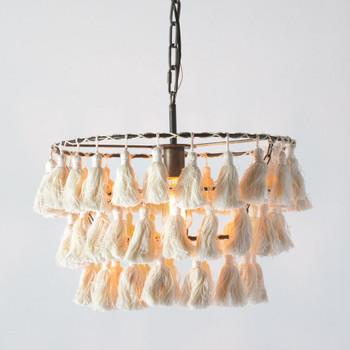 Farrah Tassel Pendant Light