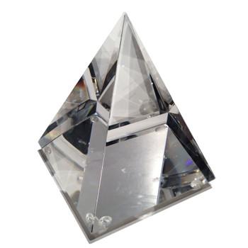 Polished Crystal Pyramid