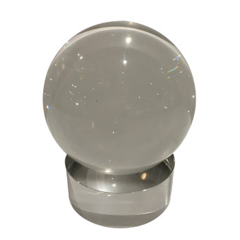 Crystal Sphere on Round Stand