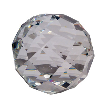 """5"""" Faceted Crystal Ball"""