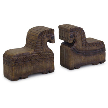 Rocking Horse Bookends