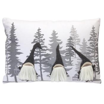 "18"" Gnome Decorative Rectangle Throw Pillow"