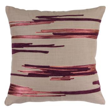 "15"" Royal Decorative Square Throw Pillows, Set of 2"