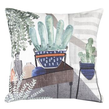 "15"" Living Area Decorative Square Throw Pillows, Set of 2"