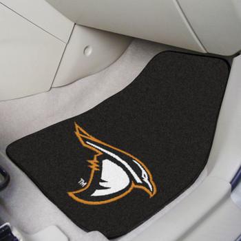 Anderson University (IN) Black Carpet Car Mat, Set of 2