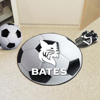 "27"" Bates College Soccer Ball Round Mat"