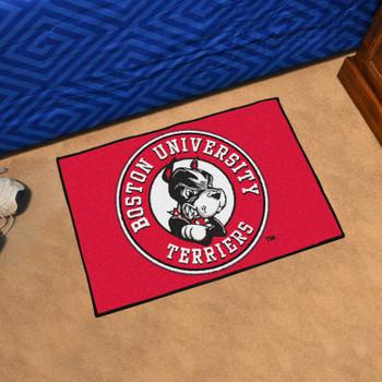 """19"""" x 30"""" Boston University Red Rectangle Starter Mat"""