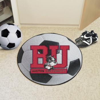 "27"" Boston University Soccer Ball Round Mat"