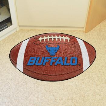 """20.5"""" x 32.5"""" State University of New York at Buffalo Football Shape Mat"""