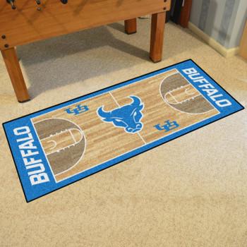"30"" x 72"" State University of New York at Buffalo NCAA Basketball Rectangle Runner Mat"