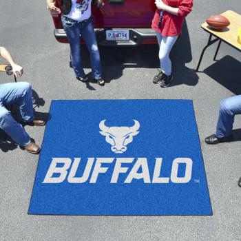 "59.5"" x 71"" State University of New York at Buffalo Blue Tailgater Mat"