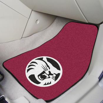Cal State - Chico Maroon Carpet Car Mat, Set of 2