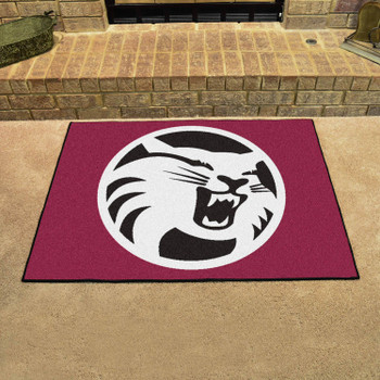 """33.75"""" x 42.5"""" Cal State - Chico All Star Maroon Rectangle Mat"""