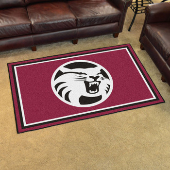 4' x 6' Cal State - Chico Maroon Rectangle Rug