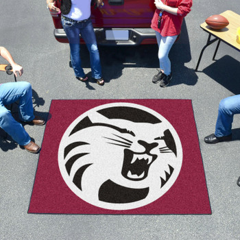 """59.5"""" x 71"""" Cal State - Chico Maroon Tailgater Mat"""