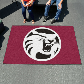 """59.5"""" x 94.5"""" Cal State - Chico Maroon Rectangle Ulti Mat"""