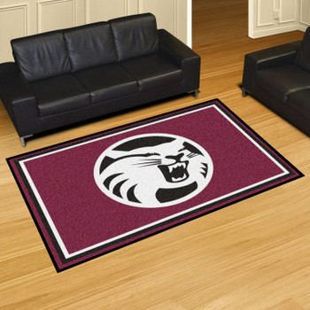 5' x 8' Cal State - Chico Maroon Rectangle Rug