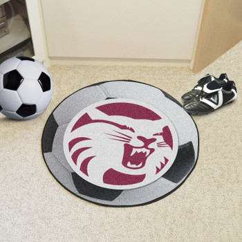 """27"""" Cal State - Chico Soccer Ball Round Mat"""