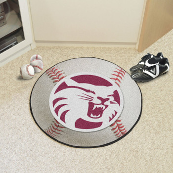 "27"" Cal State - Chico Baseball Style Round Mat"