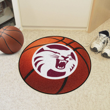 """27"""" Cal State - Chico Basketball Style Round Mat"""
