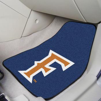 Cal State - Fullerton Blue Carpet Car Mat, Set of 2
