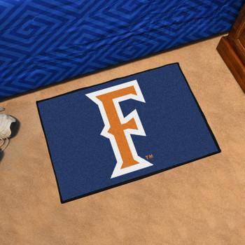 "19"" x 30"" Cal State - Fullerton Blue Rectangle Starter Mat"