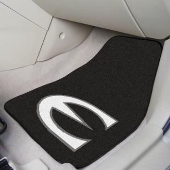 Emporia State University Black Carpet Car Mat, Set of 2