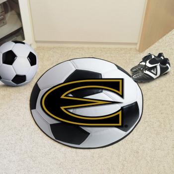 "27"" Emporia State University Soccer Ball Round Mat"